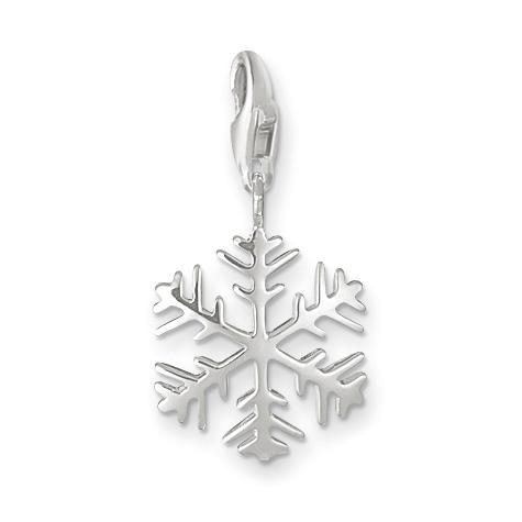 : - Snöflinga Berlock silver