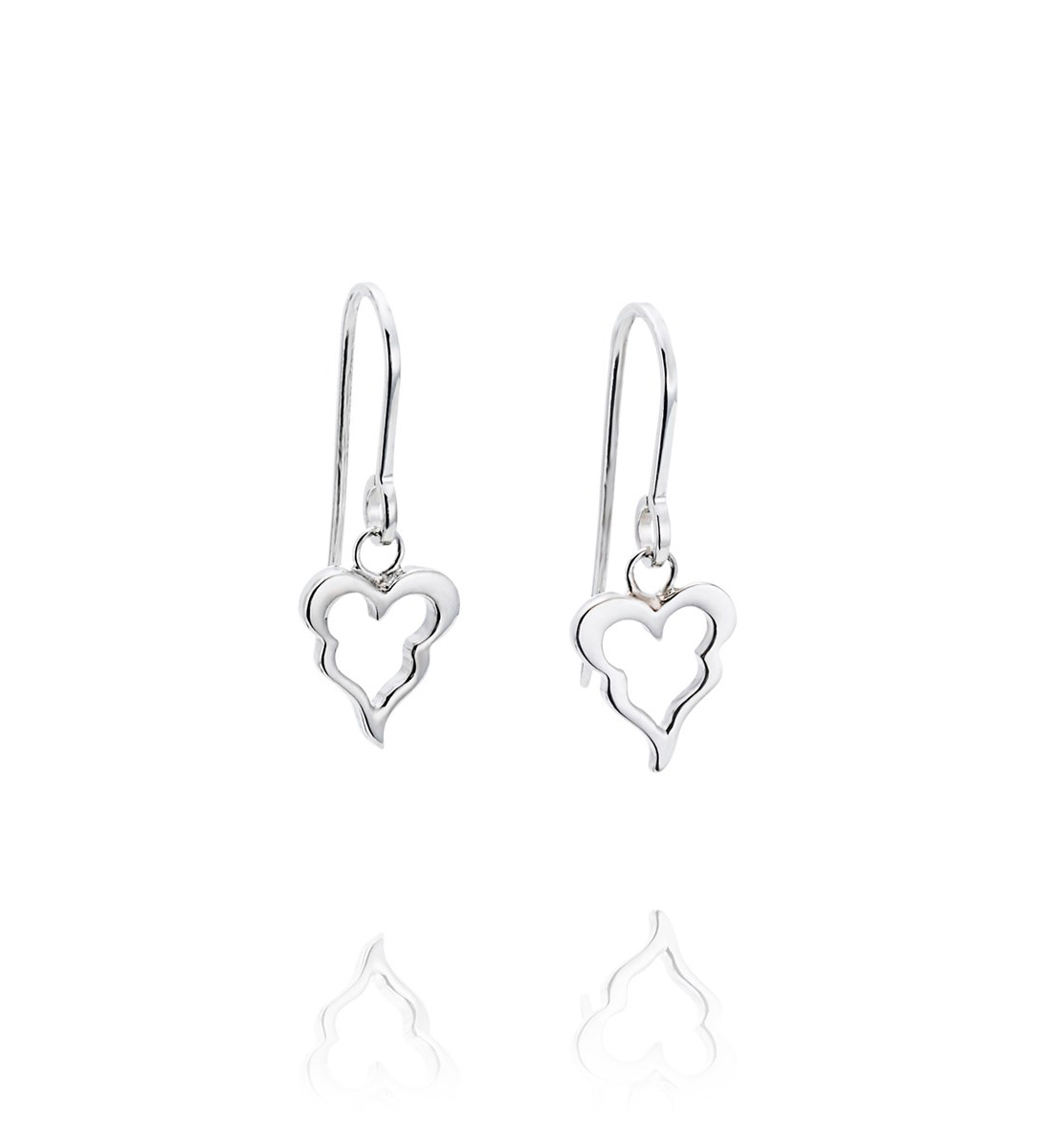 : - Little Crazy Heart Earrings