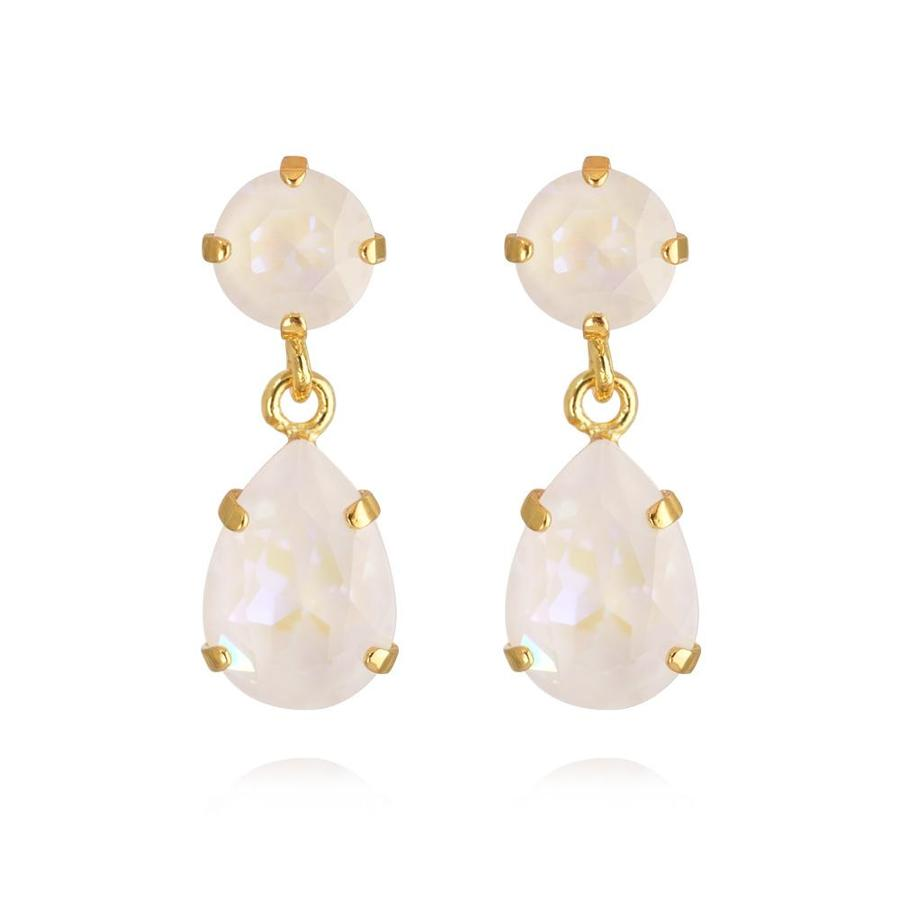 : - Mini Drop Earring Gold Light DeLite
