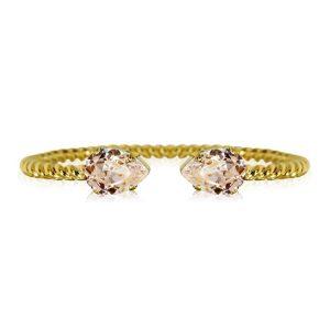 Caroline Svedbom Mini Drop Bracelet Gold Silk