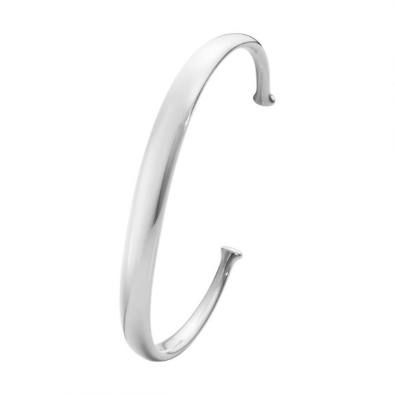 Georg Jensen Armband Men's Classic Armring Silver och Gult Guld - Jewelrybox.se