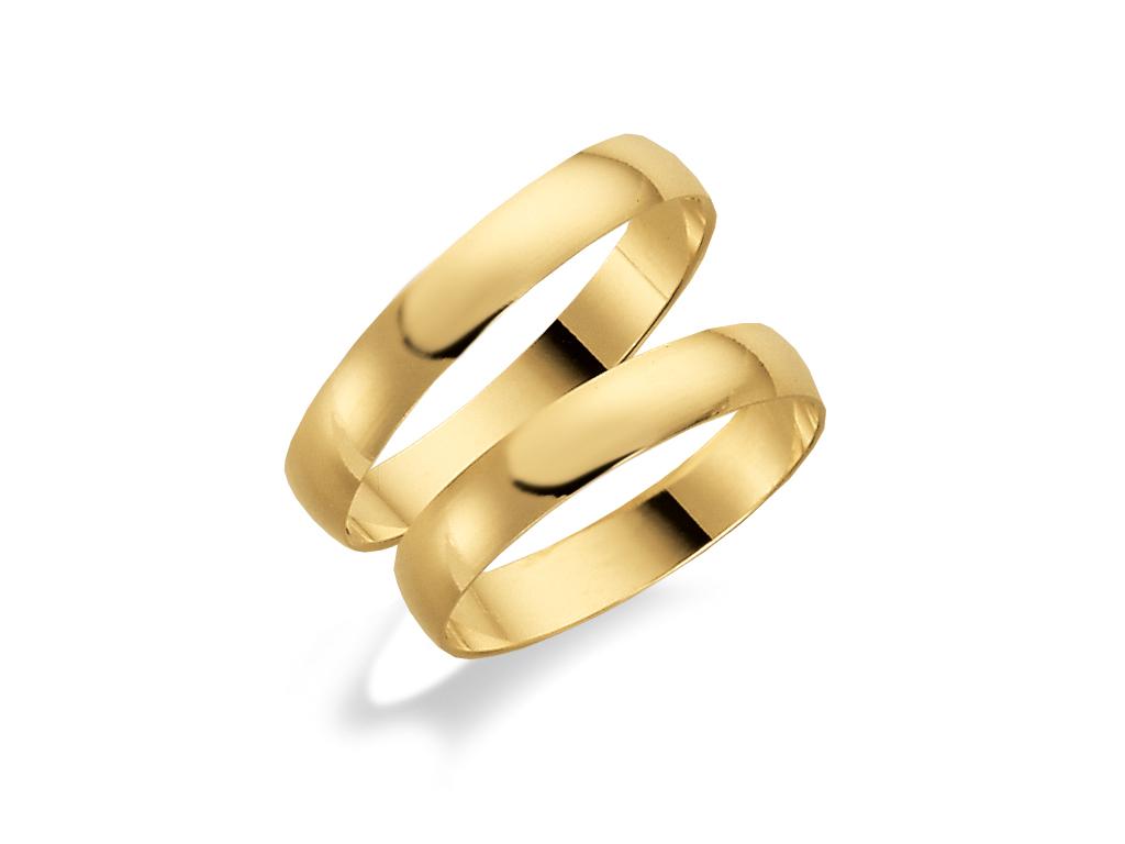Förlovningsring 18k guld Tusenserien 1007-3,5