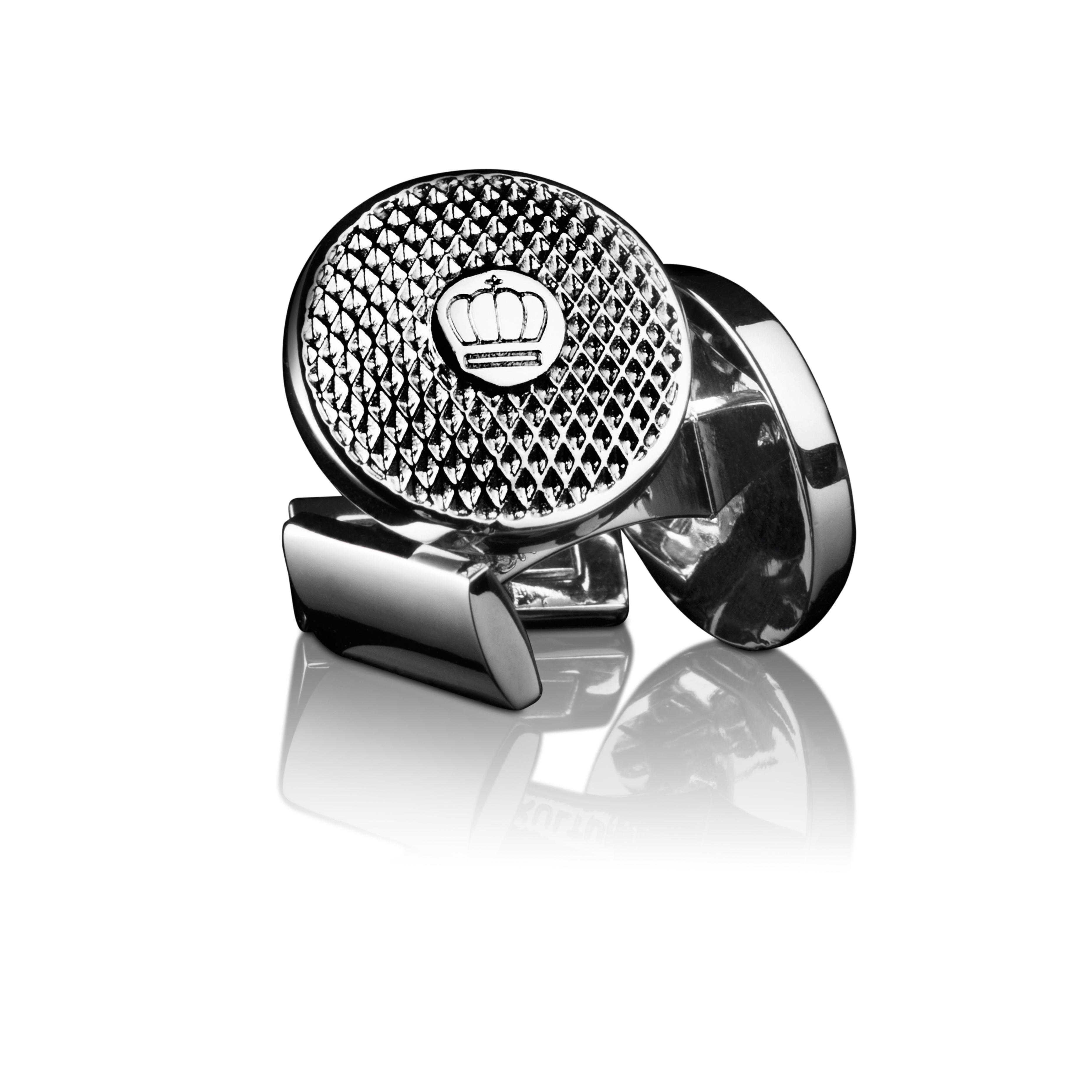 : - Manschettknappar Headlight Silver