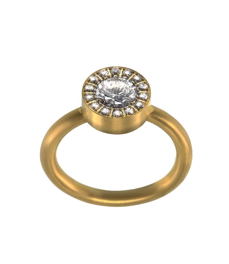 : - Thassos Ring Guld