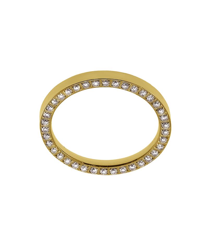: - Line Ring Guld
