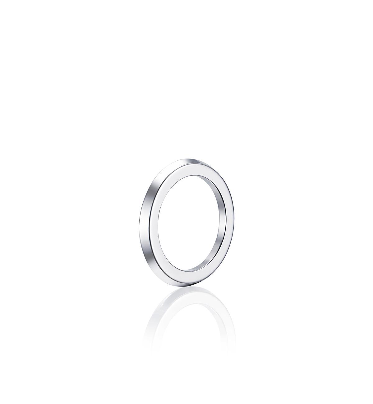 : - Paramour Ring Vitguld