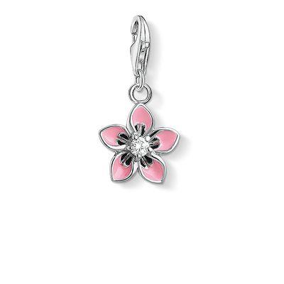Rosa Blomma Berlock