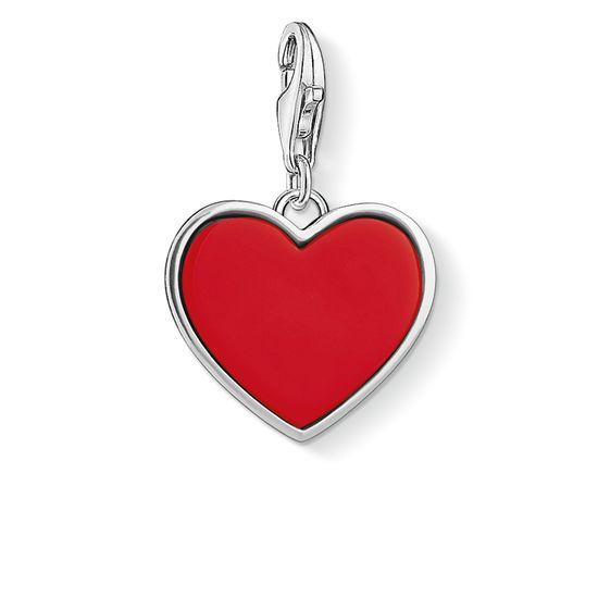 : - Berlock Kärleksrött Hjärta