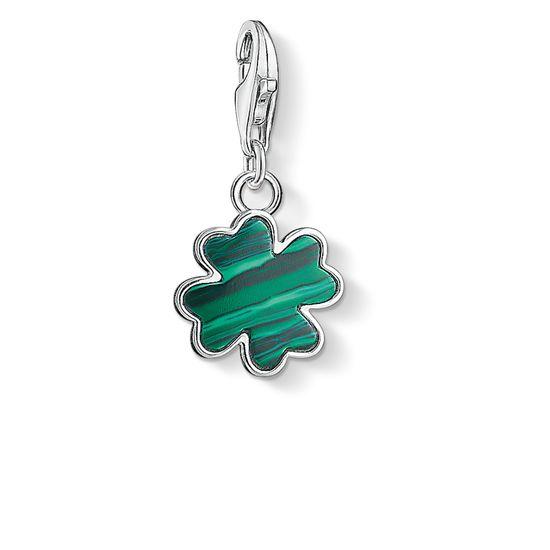 : - Grön Fyrklöver Berlock