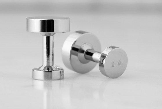 : - Icon Manschettknappar Modell 1 Stål