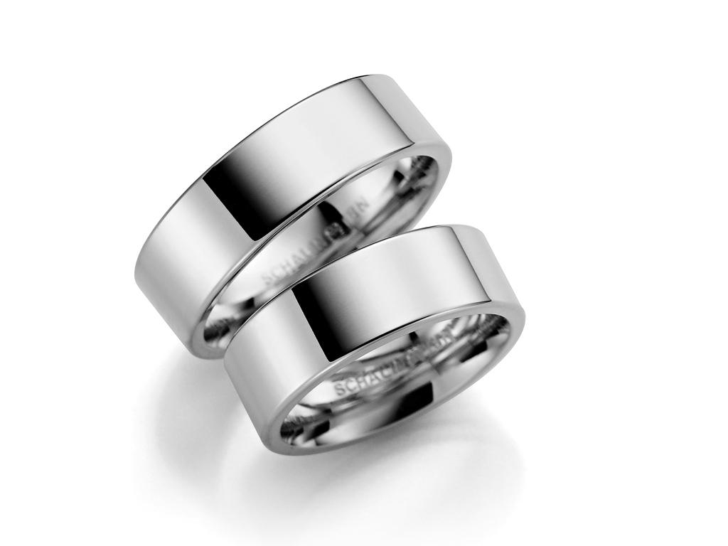 Förlovningsring 18k vitguld Klassisk 237-8