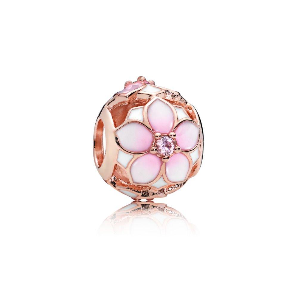 : - Magnolia Blomsterberlock Rosé