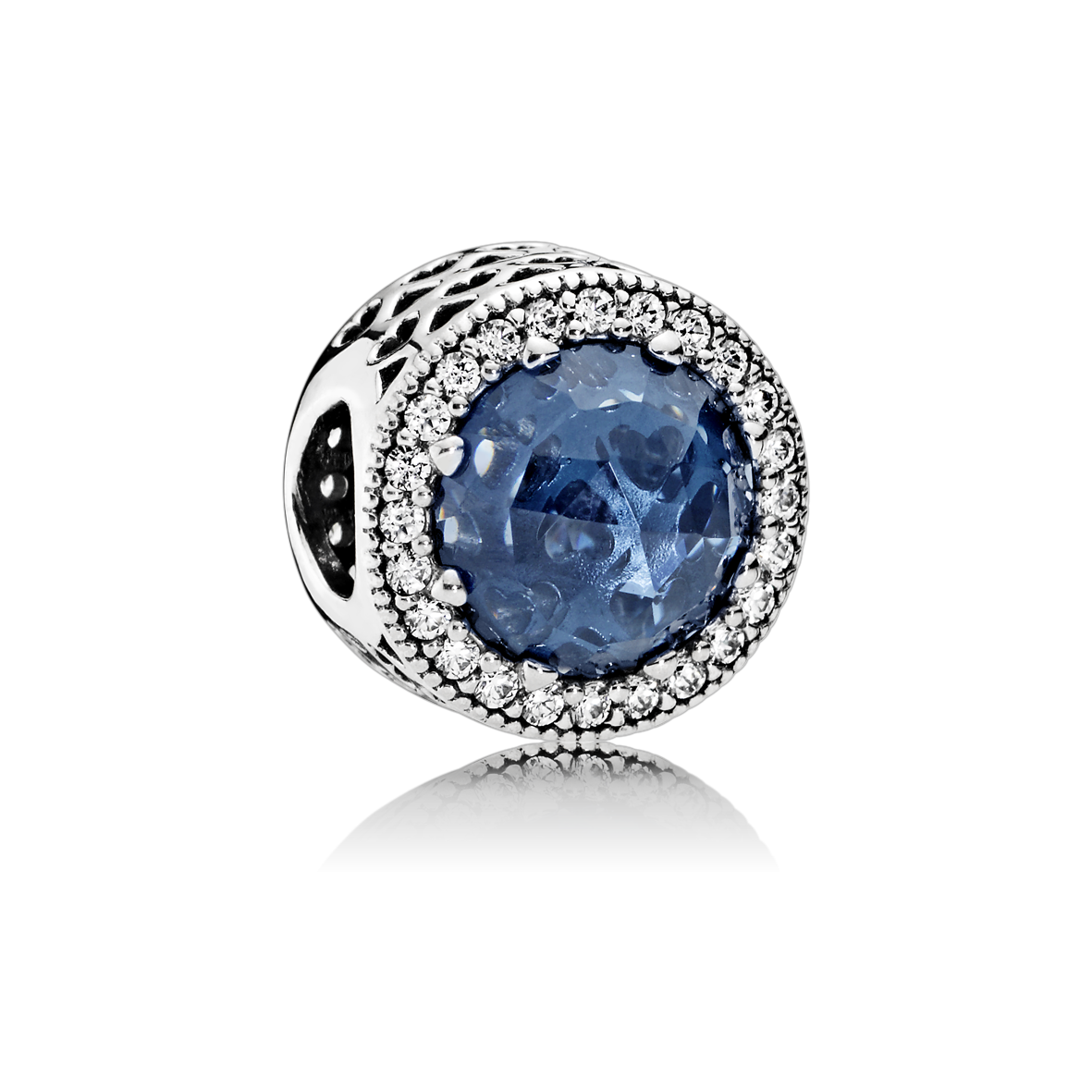 : - Blå kristallberlock