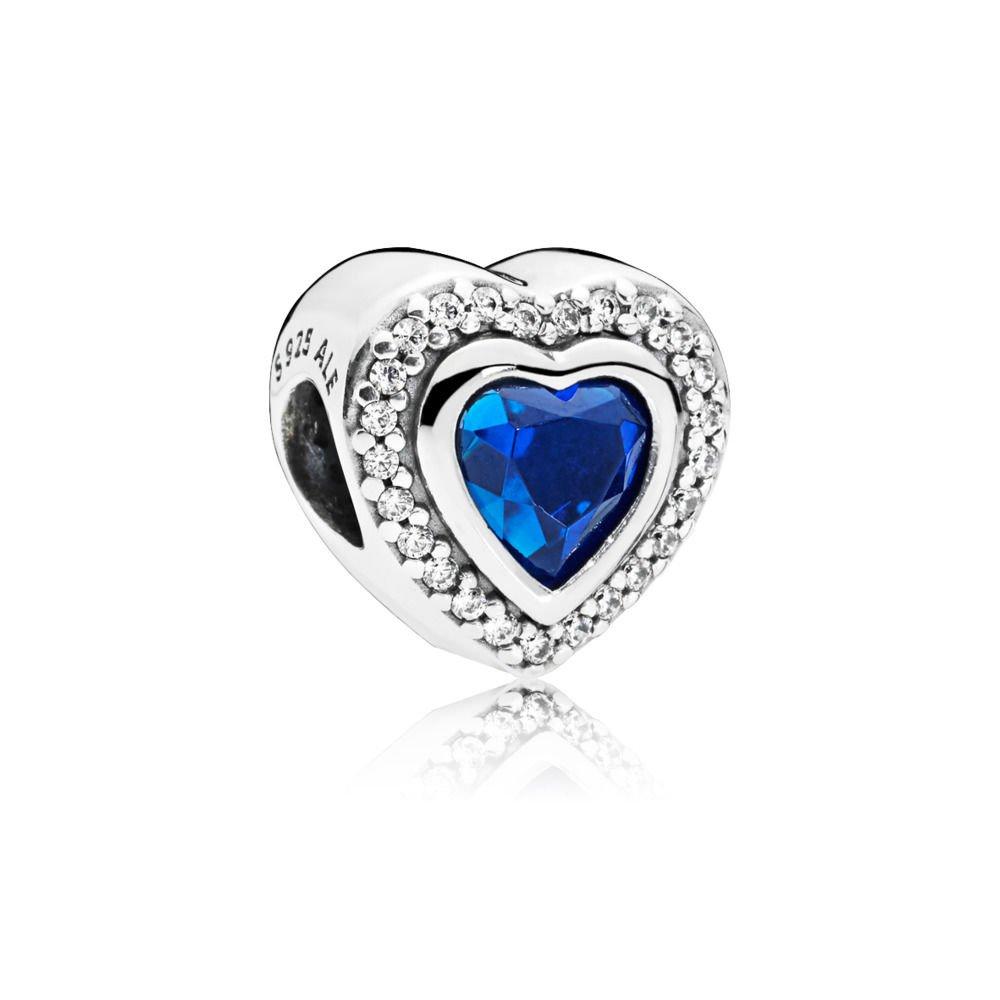: - Sparkling Love Berlock Blå
