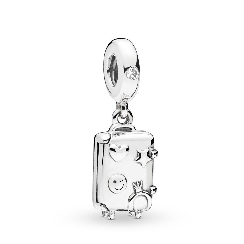 : - Resväska Hängberlock Silver