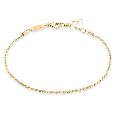 Armband tvistlänk guld