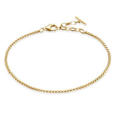 Armband Boxlänk Guld