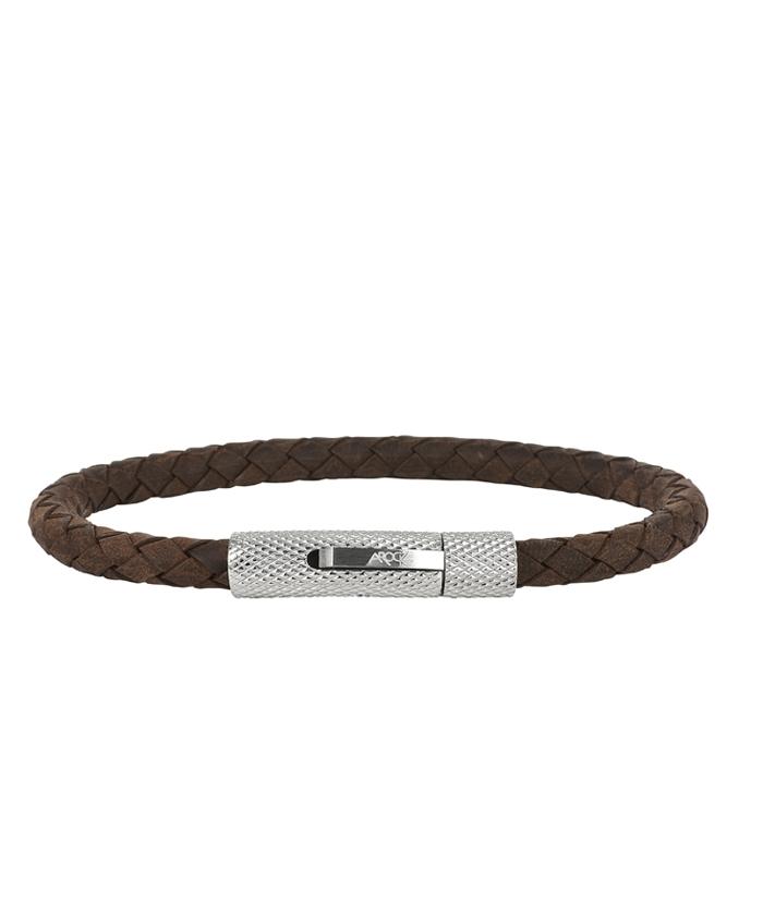 AROCK ANDRÉ Armband Brunt Läder