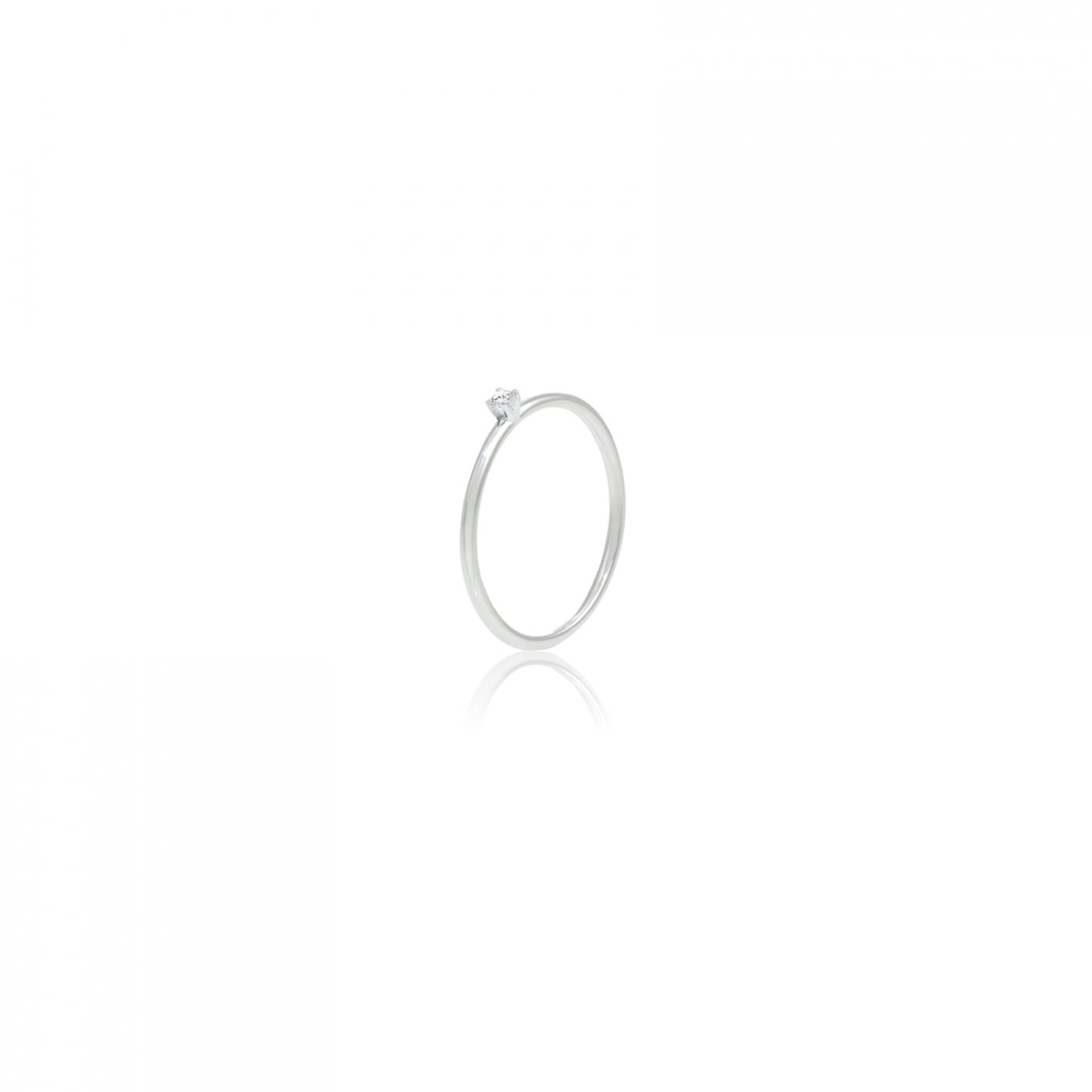 : - Diamond Sky drop ring