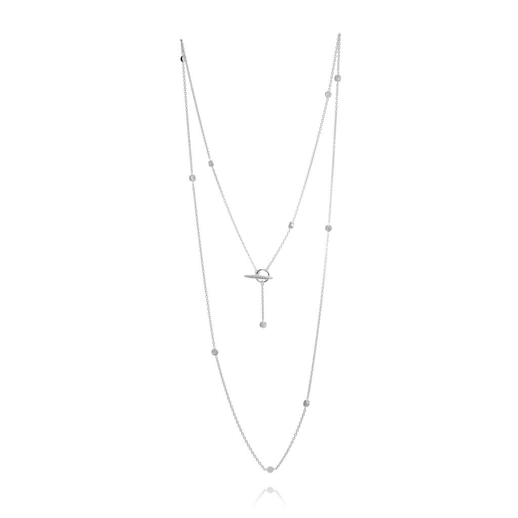 : - Diamond Sky necklace long
