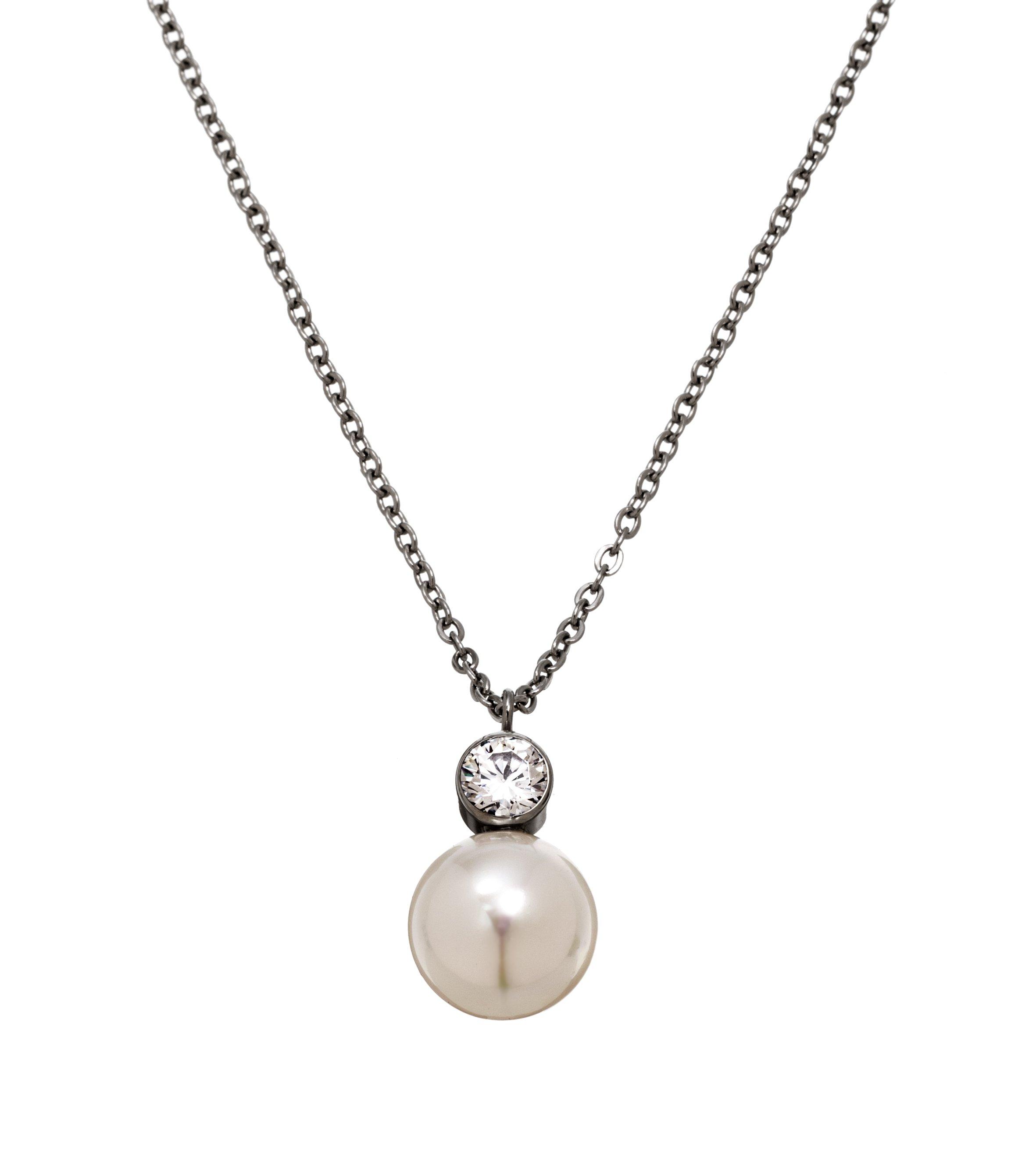 : - Luna Halsband Stål