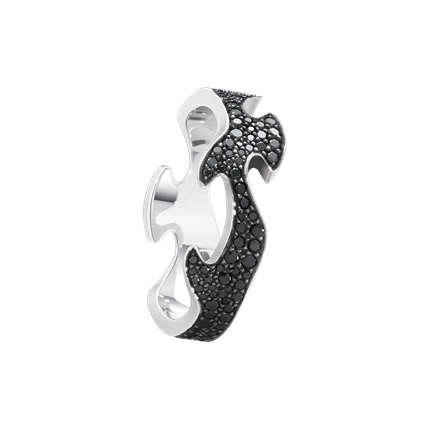 : - Fusion mittring svart pavé
