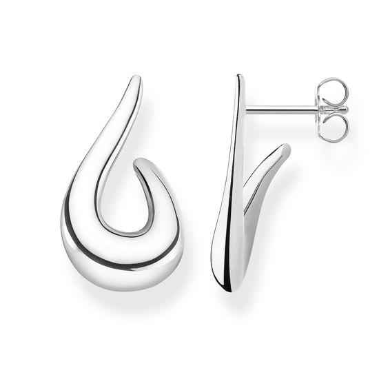 : - Stiftörhängen Heritage Silver