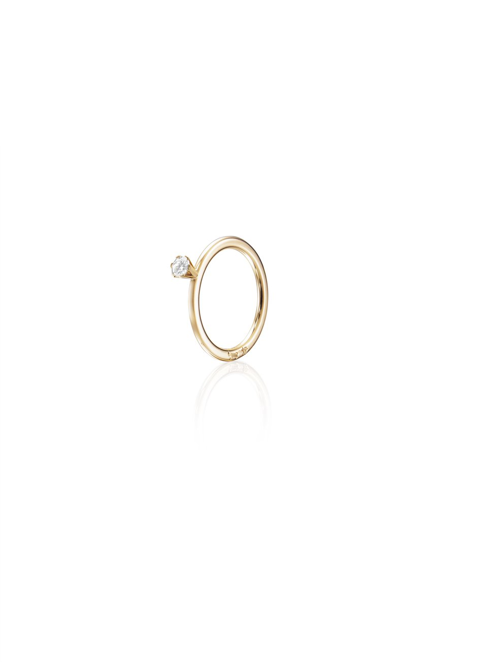 : - High On Love Ring 0.19 ct Guld