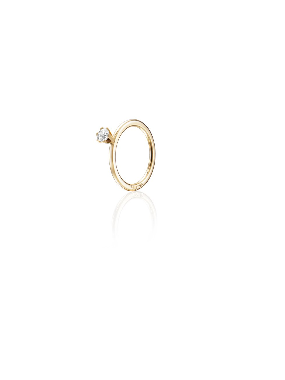 : - High On Love Ring 0.30 ct Guld