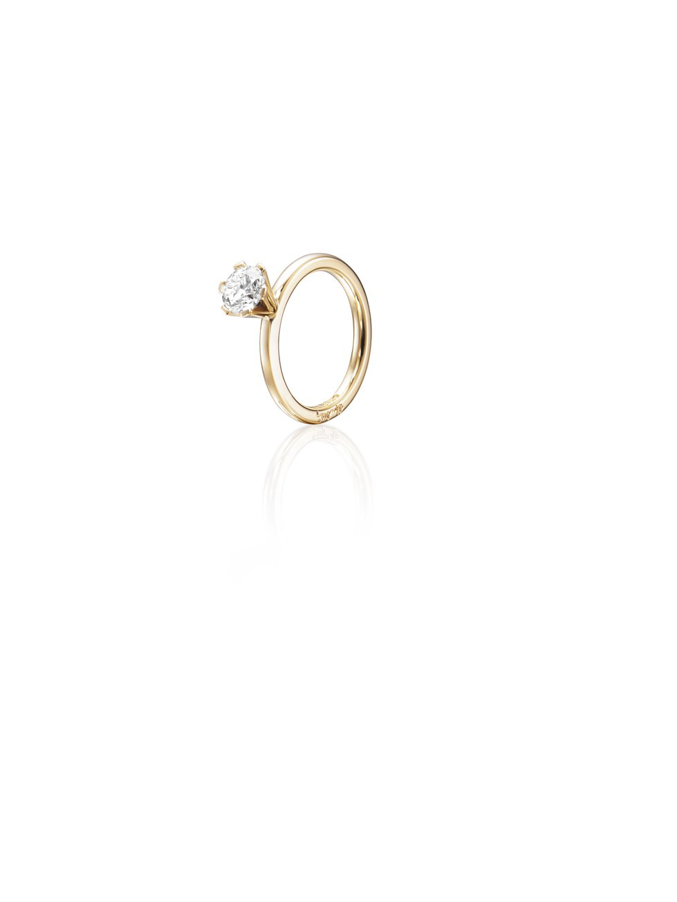 : - High On Love Ring 1.0 ct Guld