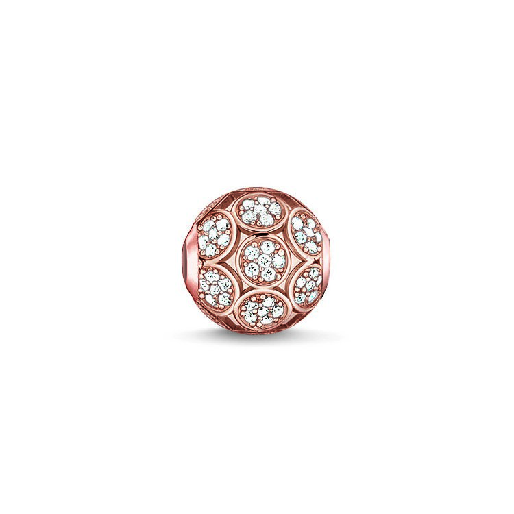 : - Karma Beads Gnistrande Cirklar