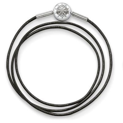 Thomas Sabo Karma Berlocker Halsband Svart