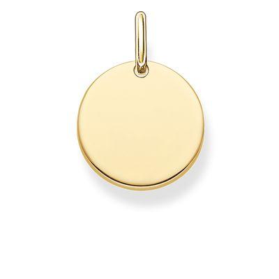 Hängsmycke cirkel guld