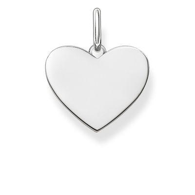 Hängsmycke hjärta silver