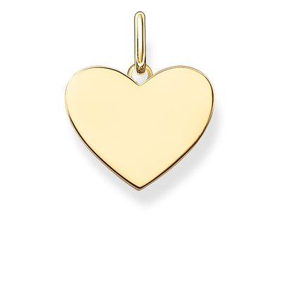 Hängsmycke hjärta guld