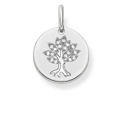 Hängsmycke livets träd silver