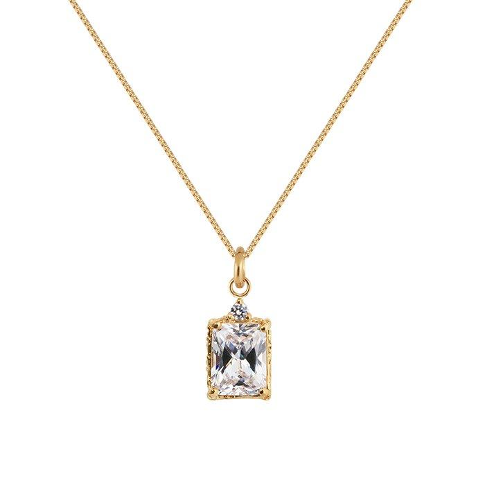 : - Lady Sparkle Necklace Bronze
