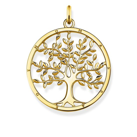 : - Hängsmycke Tree of Love Guld