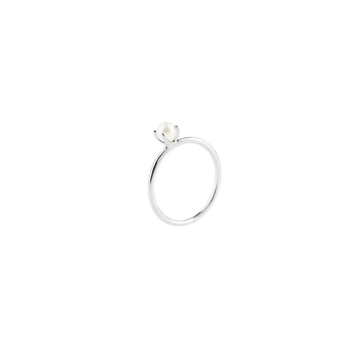 : - Petite Pearl ring