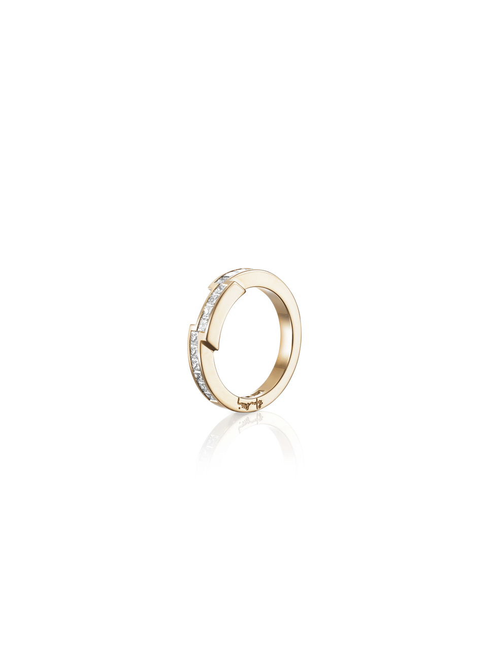 : - Rock Queen Ring Guld
