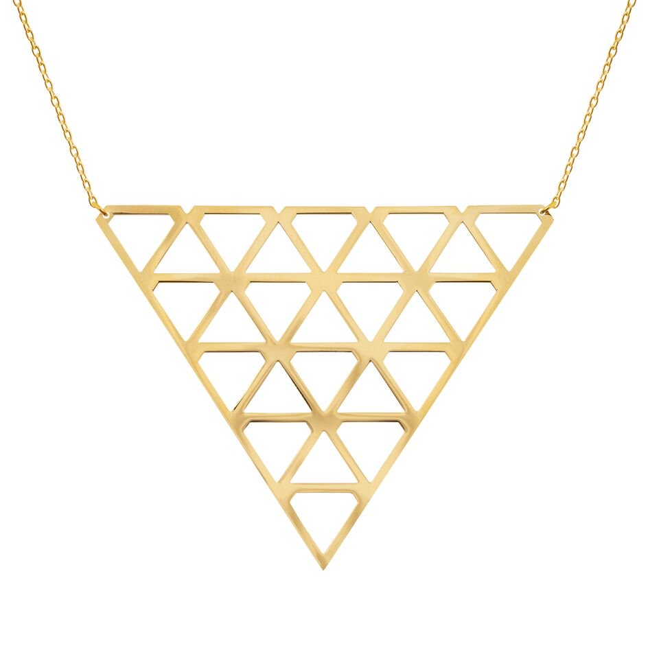 : - Super Diamond Necklace L Gold