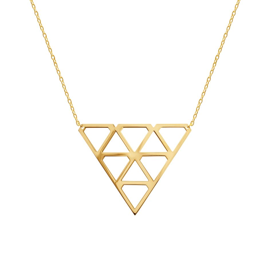 : - Super Diamond Necklace M Gold