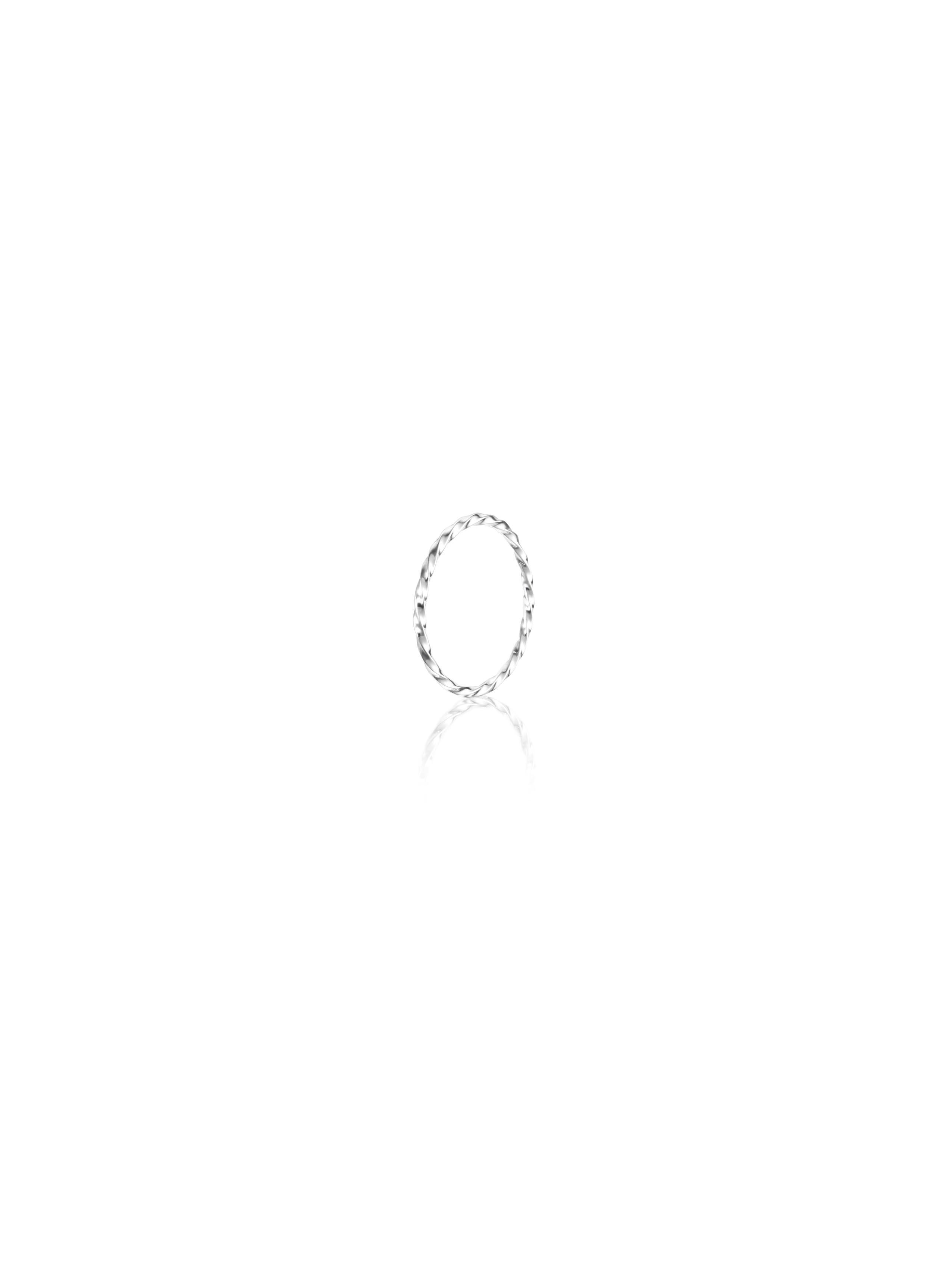 Efva Attling Twisted Orbit Plain Ring
