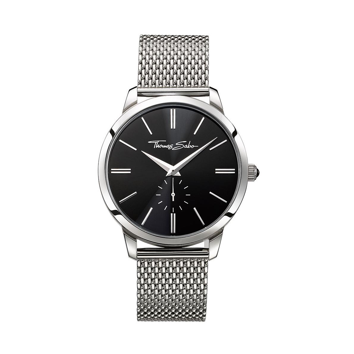 : - Classic klocka stål