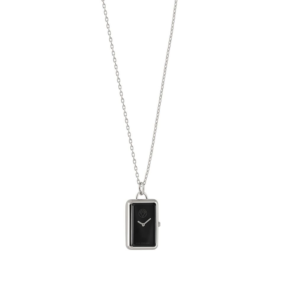 Emma Israelsson Watch Silver Black
