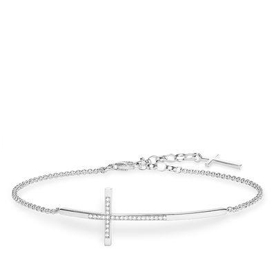 Diamantarmband kors