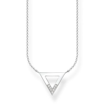 Thomas Sabo Glam & Soul Diamond Triangle Pendant