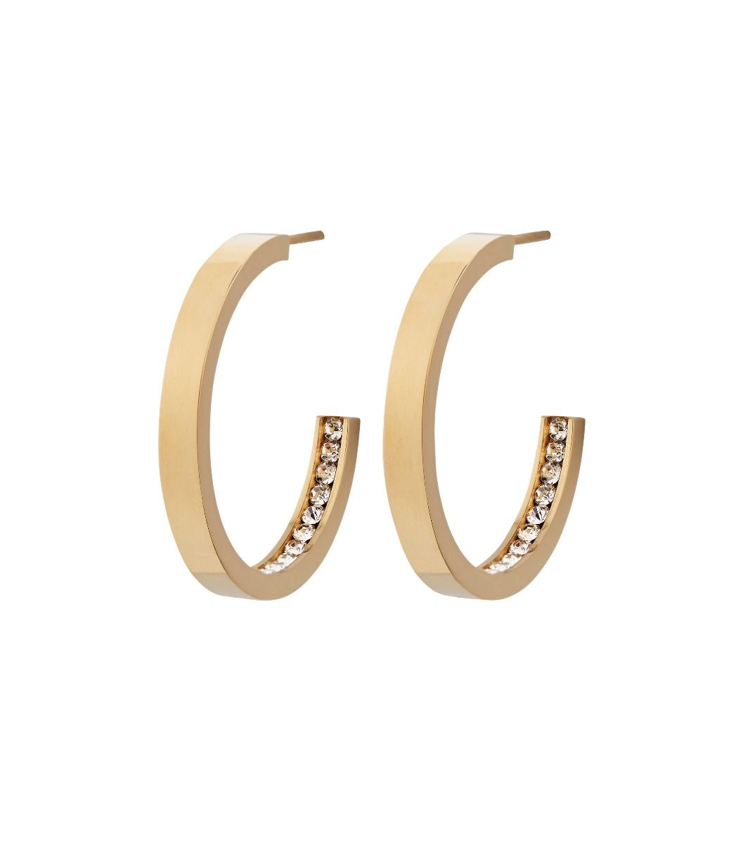 Edblad Monaco Earrings Small Gold