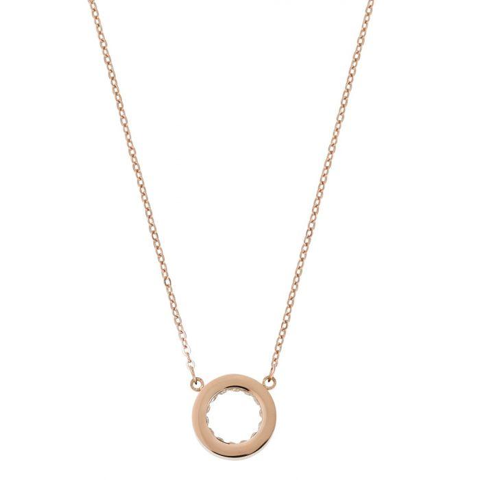 : - Monaco Halsband Roséguld