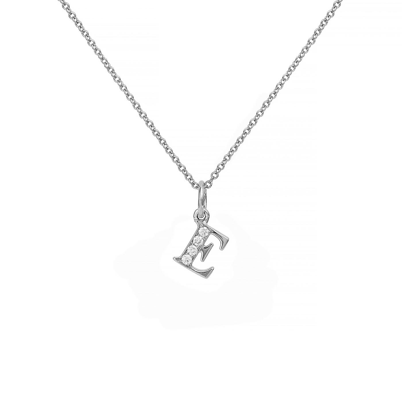 : - Love Letter 18 K vitguld & Diamanter – E